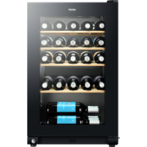Haier WS30GA Wine Cooler - Black - A Rated   AO SALE