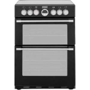 Stoves STERLING600E 60cm Electric Cooker with Ceramic Hob - Black - A/A Rated