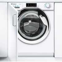 Candy CBW48D1XCE/1 Integrated 8Kg Washing Machine with 1400 rpm - White / Chrome - A+++ Rated AO SALE