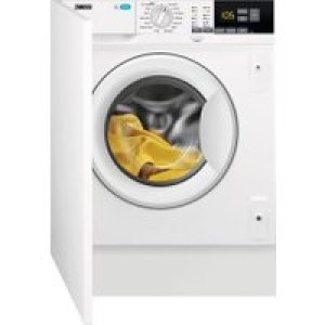 Zanussi Z814W85BI Integrated 8Kg Washing Machine with 1400 rpm - White - A+++ Rated   AO SALE
