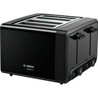 Bosch TAT4P443GB 4 Slice Toaster - Black AO SALE