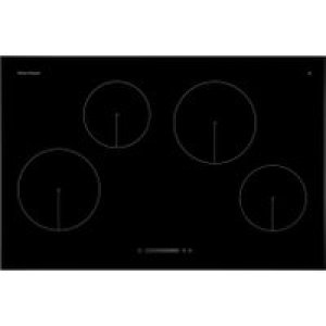 Fisher & Paykel CI804CTB1 80cm Induction Hob - Black   AO SALE
