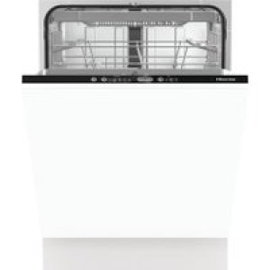 Hisense HV661D60UK Fully Integrated Standard Dishwasher - Black Control Panel with Fixed Door Fixing Kit - A+++ Rated AO SALE