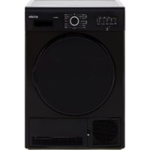 Electra TDC7100B 7Kg Condenser Tumble Dryer - Black - B Rated   AO SALE