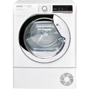 Hoover Dynamic Next DXOH11A2TCEXM Wifi Connected 11Kg Heat Pump Tumble Dryer - White - A++ Rated   AO SALE