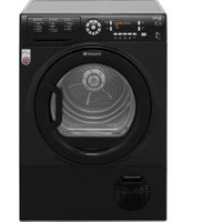Hotpoint Ultima S-Line SUTCD97B6KM 9Kg Condenser Tumble Dryer - Black - B Rated   AO SALE