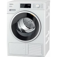 Miele T1 TSF643WP 8Kg Heat Pump Tumble Dryer - White - A+++ Rated   AO SALE