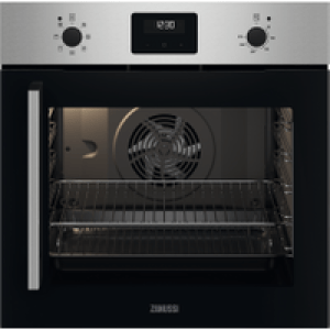 Zanussi ZOCNX3XR Built In Electric Single Oven - Stainless Steel - A Rated   AO SALE