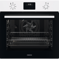 Zanussi ZOHNX3W1 Built In Electric Single Oven - White - A Rated   AO SALE