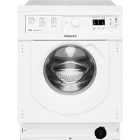 Hotpoint BIWDHG75148UKN Integrated 7Kg / 5Kg Washer Dryer with 1400 rpm - White - B Rated   AO SALE