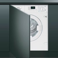 Smeg WDI147D-1 Integrated 7Kg / 4Kg Washer Dryer with 1400 rpm - White - B Rated   AO SALE
