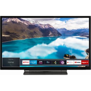 """Toshiba 32WD3A63DB 32"""" Smart 720p HD Ready TV with Freeview Play and DVD Combi  AO SALE"""