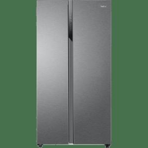 Haier HSR3918ENPG American Fridge Freezer - Silver - A++ Rated  AO SALE
