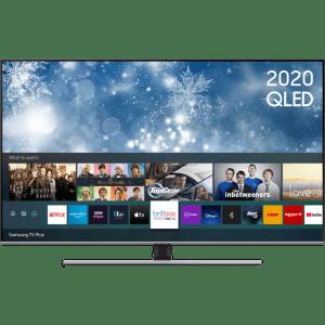 "Samsung QE75Q70TA 75"" Smart 4K Ultra HD QLED TV With 100% Colour Volume, Quantum Processor and Dual LED  AO SALE"