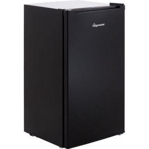 Fridgemaster MUR4892MB Fridge with Ice Box - Black - A+ Rated  AO SALE