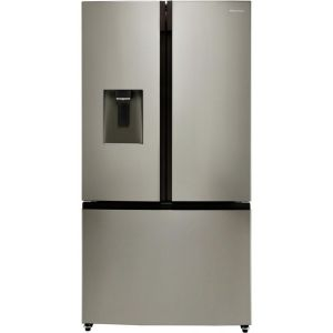 Hisense RF702N4IS1 American Fridge Freezer - Stainless Steel - A+ Rated  AO SALE