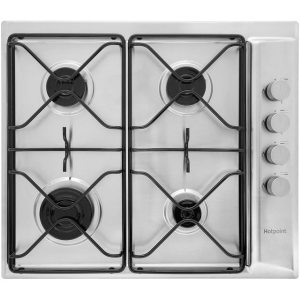 Hotpoint Newstyle PAN642IXH 58cm Gas Hob - Stainless Steel  AO SALE