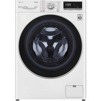 LG FWV595WSE 9kg/5kg Direct Drive Steam Washer Dryer - WHITE