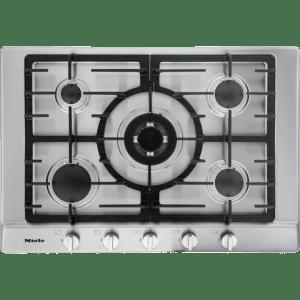 Miele KM2032 75cm Gas Hob - Clean Steel  AO SALE