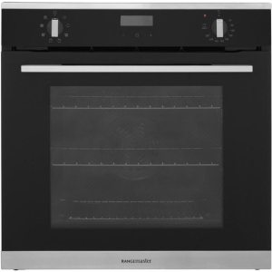 Rangemaster RMB608BL/SS Built In Electric Single Oven - Black - A Rated AO SALE