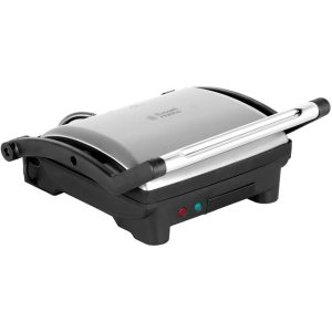 Russell Hobbs Panini Grill And Griddle 17888 Sandwich Toaster - Stainless Steel  AO SALE