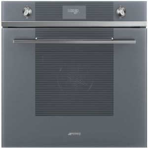 Smeg Linea SF6101TVS1 Built In Electric Single Oven - Silver - A+ Rated AO SALE