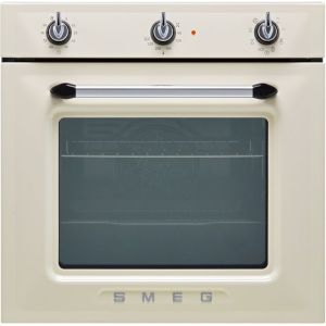 Smeg Victoria SF6905P1 Built In Electric Single Oven - Cream - A Rated AO SALE