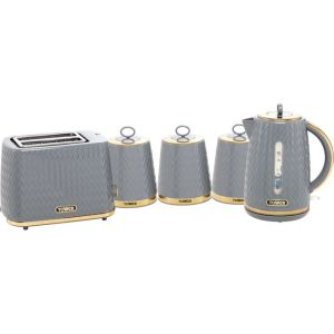 Tower Empire AOBUNDLE019 Kettle And Toaster Sets - Grey  AO SALE