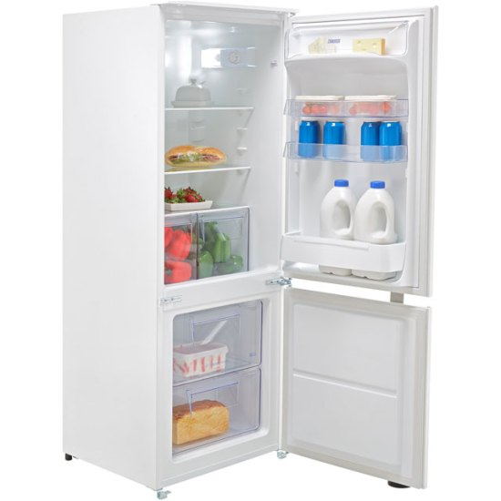 Zanussi ZBB24431SV Integrated 70/30 Fridge Freezer with Sliding Door Fixing Kit - White - A+ Rated AO SALE