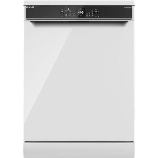 Sharp QW-NA26F39DW-EN Standard Dishwasher - White - A+++ Rated