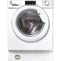 Hoover HBWS49D1E Integrated 9Kg Washing Machine with 1400 rpm - White - A+++ Rated