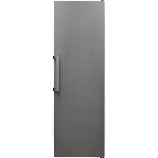 Sharp SJ-SC11CMXIF-EN Frost Free Upright Freezer - Stainless Steel - A+ Rated
