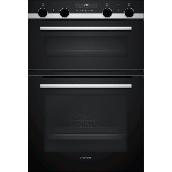 Siemens MB578G5S6B IQ-500 Built In Pyrolytic Multifunction Double Oven - STAINLESS STEEL