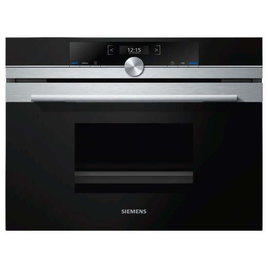Siemens CD634GAS0B IQ-700 Compact Steam Oven - STAINLESS STEEL