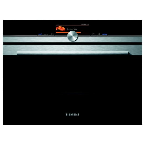 Siemens CM678G4S6B IQ-700 Compact Pyrolitic Oven With Microwave - STAINLESS STEEL