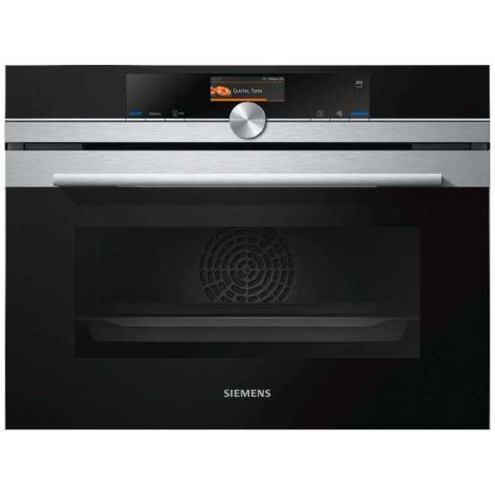 Siemens CS656GBS7B IQ-700 Compact Multifunction Steam Oven - STAINLESS STEEL
