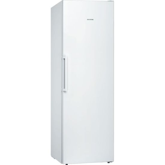 Siemens IQ-300 GS36NVWFV Frost Free Upright Freezer with Fixed Door Fixing Kit - White - A++ Rated