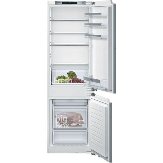 Siemens IQ-300 KI86NVFF0G Integrated 70/30 Frost Free Fridge Freezer with Fixed Door Fixing Kit - White - A++ Rated