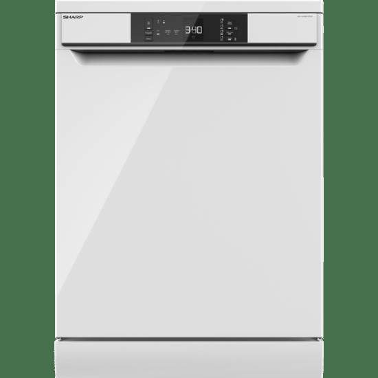 Sharp QW-NA1BF47EW-EN Standard Dishwasher - White - A++ Rated