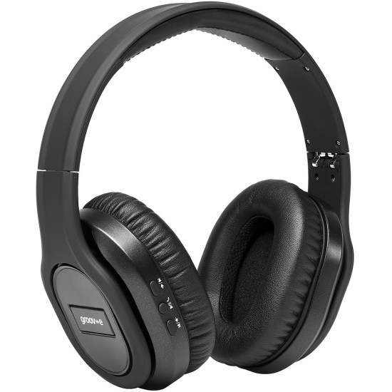 Groov-e Elite Wireless Headphones with Noise Cancelling - Black