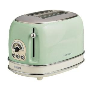 Ariete AR5514 Vintage 2-Slice Toaster - Green