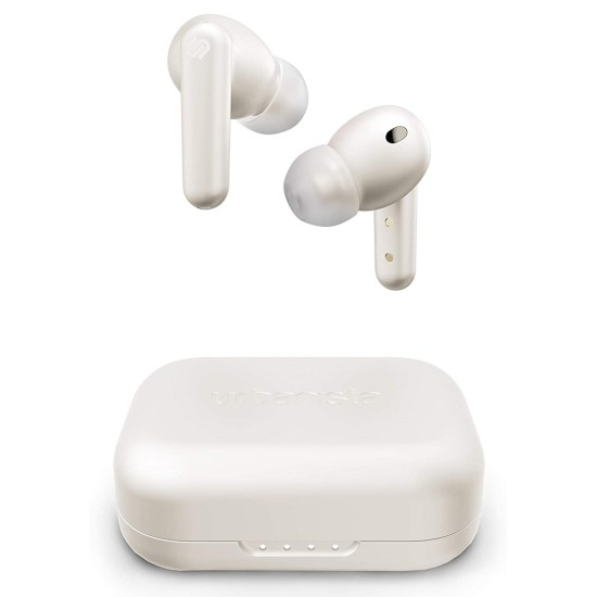 Urbanista London True Wireless Earbuds with Active Noise Cancellation - White Pearl