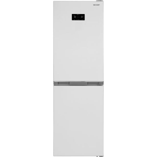 Sharp SJ-BA33DHXWE-EN 50/50 Frost Free Fridge Freezer - White - A++ Rated