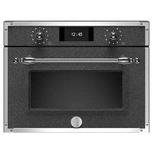 Bertazzoni F457HERVTND Heritage Series Compact Steam Combination Oven - BLACK