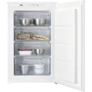 AEG ABE688E1LS Integrated Upright Freezer with Sliding Door Fixing Kit - A++ Rated