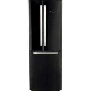 Hotpoint FFU3DGK1 60/40 Frost Free Fridge Freezer - Black - A+ Rated