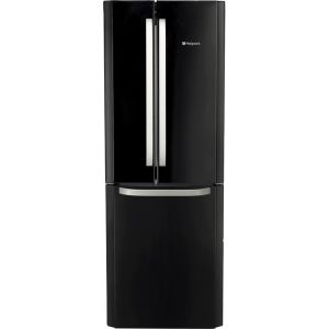 Hotpoint FFU3DK1 60/40 Frost Free Fridge Freezer - Black - A+ Rated