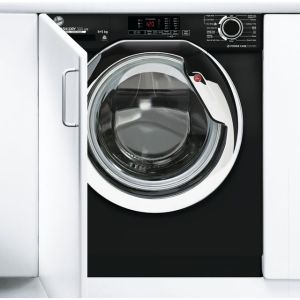 Hoover H-WASH&DRY 300 LITE HBDS485D1ACBE Integrated 8Kg / 5Kg Washer Dryer with 1400 rpm - Black - A Rated