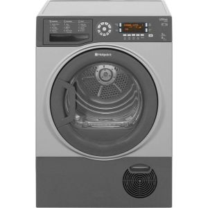 Hotpoint Ultima S-Line SUTCD97B6GM 9Kg Condenser Tumble Dryer - Graphite - B Rated