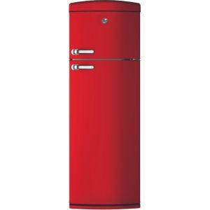 Hoover HVRDS6172RKH 80/20 Fridge Freezer - Red - A+ Rated